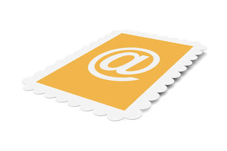 Email Postage stamp Stock Photo - 1350073