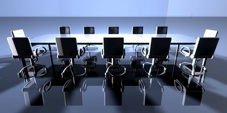 lecture room: Ambient Meeting Room