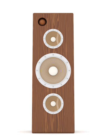Mahogany Speaker Stock Photo - 2131217