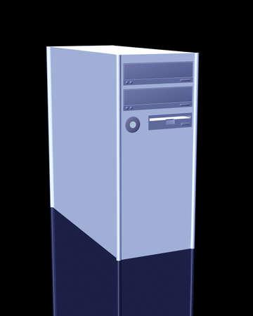 dvd case: Desktop PC Stock Photo