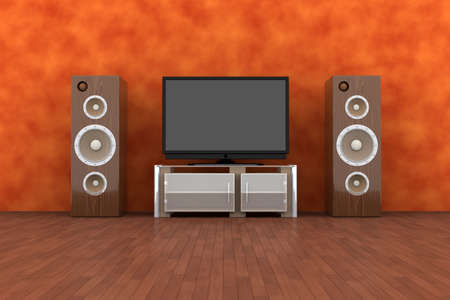 Home Entertainment System Stock Photo - 2143051