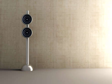 Design Speaker - Interior Stock Photo - 2192614