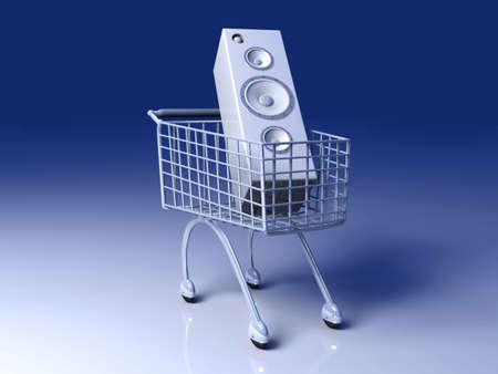 Music Shopping Stock Photo - 4705937