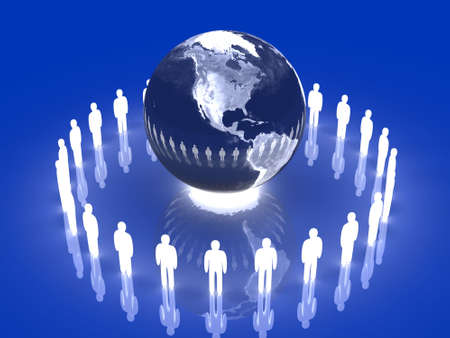 Glowing Global Team - America photo