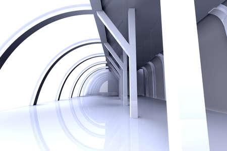 hallway: Hallway Architecture Stock Photo
