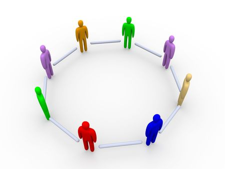 clique: Multicolored Community