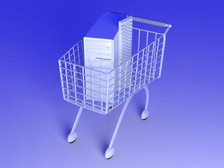 Computer Shopping Stock Photo - 4815032