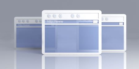 Browser Windows Stock Photo - 4865056