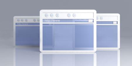 Browser Windows Stock Photo - 4865056