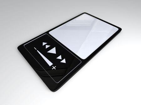 mp4: MP4 Player         Stock Photo