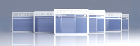 Browser Windows Stock Photo - 4923317