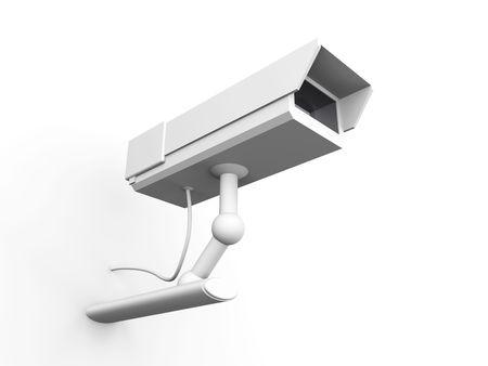 big brother spy: C�mara de Vigilancia CCTV Foto de archivo