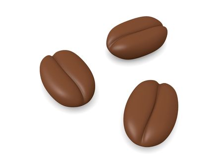 Three Coffee Beans   photo