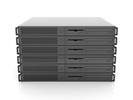 fileserver: 19inch Server Stack