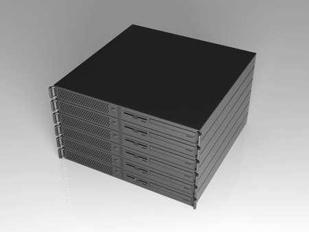 webspace: 19inch Server Stack