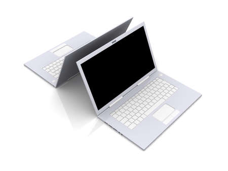 trackpad: Two Laptops