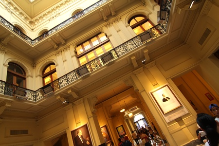 peron: Interior of the Casa Rosada, the government building in Buenos Aires, the Capital of Argentina. Editorial