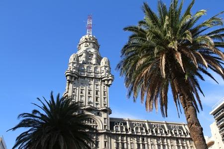 montevideo: The Palacio Salvo in Montevideo, Uruguay. Editorial