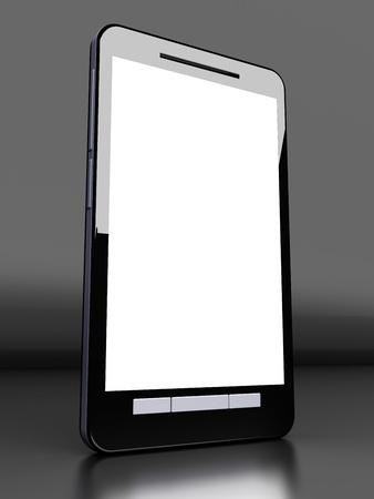 A modern Smartphone. 3D illustration. illustration