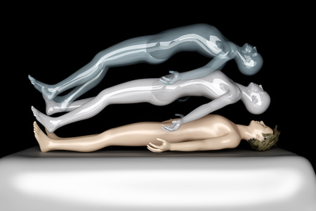 3d rendered Illustration. Astral Projection. Stock Illustration - 22960404