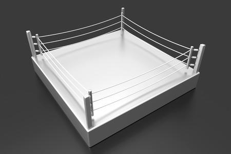 A Boxing ring. 3d illustration.  illustration