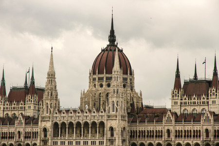 Parlament: The Hungarian Parlament in Budapest, Europe. Editorial
