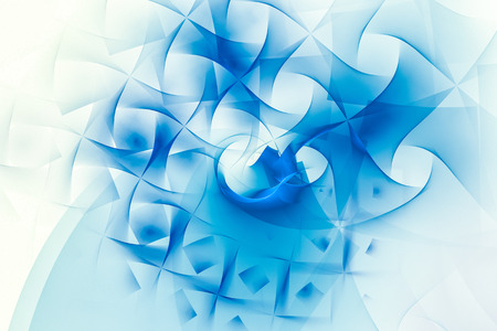 recursive: A abstract fractal background created using the recursive fractal flame algorithm. Stock Photo