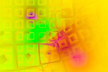 fractal flame: Un fondo abstracto del fractal creado usando el algoritmo fractal llama recursiva.