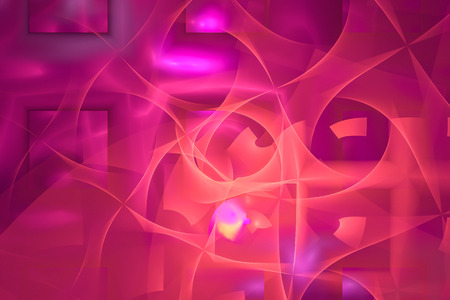 A abstract fractal background created using the recursive fractal flame algorithm. Stock Photo