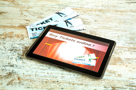 Buy cinema Tickets online with your mobile device or Tablet PC. photo