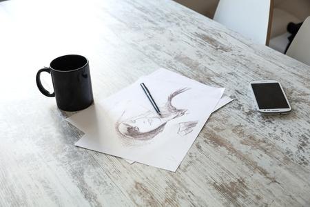 sketch: Sketch Stock Photo