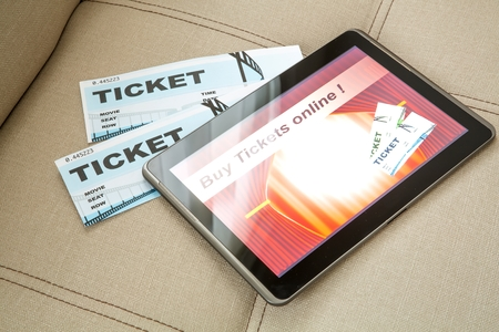 e ticket: Buy Cinema Tickets online with a Tablet PC