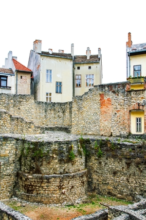 ��archeological site�: Archeological site in Sopron