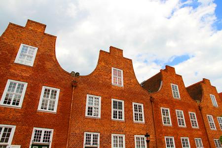 castle district: Historic Architecture in Potsdam, Germany.