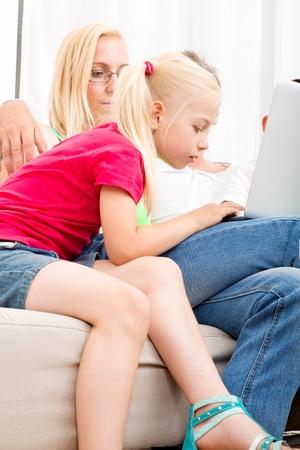family sofa: Family on the Sofa