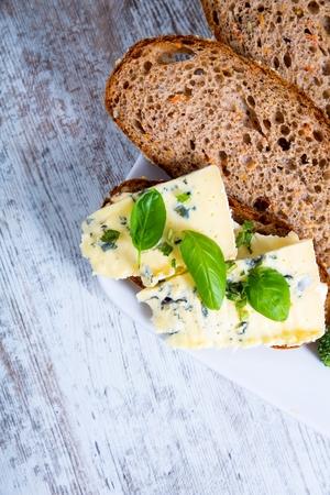 roquefort: Sandwiches with Roquefort cheese