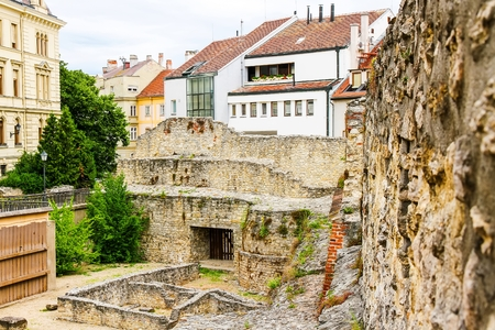 ���archeological site���: Archeological site in Sopron