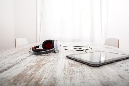 audifonos: Tablet PC y auriculares