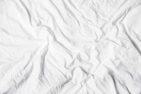 white sheet: A white sheet background. Stock Photo
