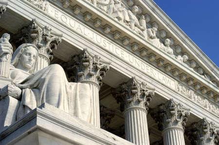 justicia: Corte Suprema  Foto de archivo