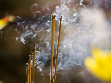 empowered: Incense burning