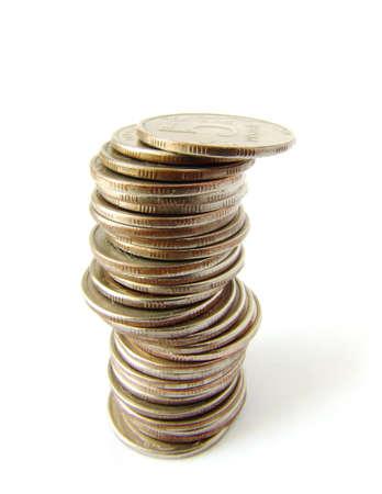Coins column Stock Photo - 396772