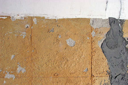 Old Cracked grungy cemented wall  for your design needs photo