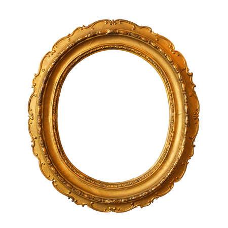gild: Placcati in oro intagliato, molto vecchio, cornice vuota per mettere le immagini