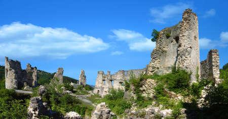 The Ruins of Croatian ancient town Samobor Stock Photo - 683244
