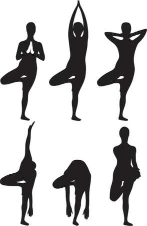 Yoga Baum Übung