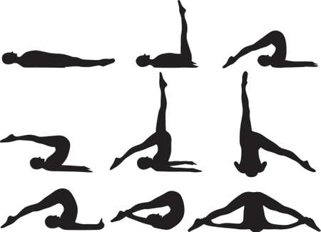 Yoga-Pflugpraxis