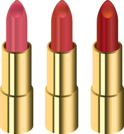 glamur: Three different lipsticks