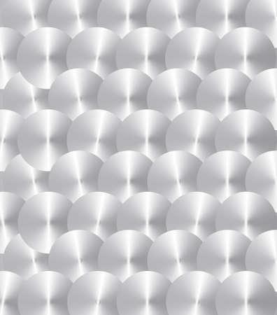inox: Brushed Inox circles