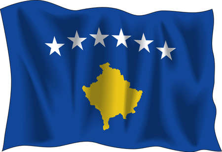Flag of Kosovo in Vectors Vector